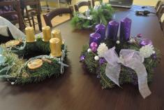 Vyrábění adventních svícnů 3.12. 2016 Vodokrty