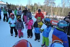 Mistrovství Obce Řenče vesjezdovém lyžování - 25.2. 2018