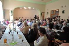 Setkání důchodců Řenče - 21.4. 2018