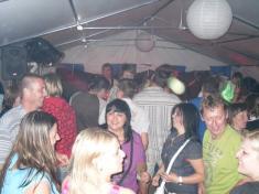 pouťová zábava 5.7.2009 Vejce Řenče