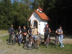 Na kole kolem Čertova břemene 26.9.2009