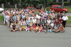 Setkání rodáků Řenče aPlevňov 5.7.2010