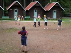 Dětstký tábor sIvuškou  Srub uBabylonu 2011
