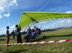 Slet létajících aparátů  Osek 10.9. 2011
