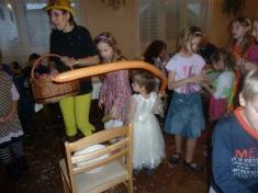 Dětský maškarní bál 21.1. 2012