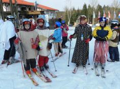 Závěr lyžařského kurzu 4.3. 2012