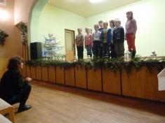 Vánoční besídka  ZŠ Řenče 13.12. 2012