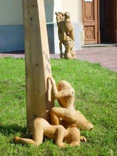 výstava soch M. Kasla Řenče vroce 2006