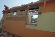 Stavební úpravy budovy ZŠ vŘenčích 2016