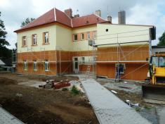Oprava fasády ZŠ Řenče 2013