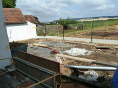 Oprava plotu školního areálu 2013