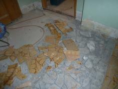 Rekonstrukce sociálního zařízení achodeb OÚ Řenče 2014