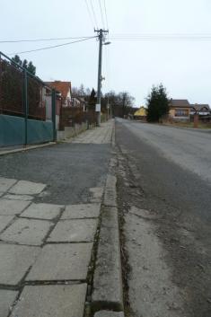 Oprava chodníků 2014