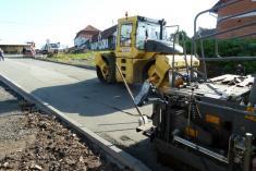 Oprava vjezdu zemědělského areálu Řenče 2014