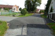 Oprava místní komunikace 1b Řenče - podokončení 2014