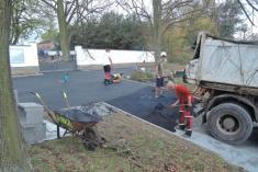 Oprava parkoviště uhřbitova 2017