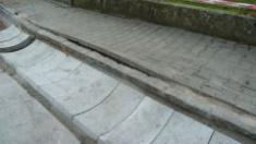 Oprava silničního příkopu ve Vodokrtech