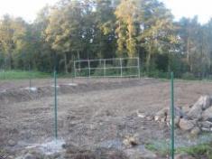 Rekonstrukce stávajícího sportoviště v Řenčích - 1. fáze - 2010