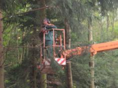 Oprava a údržba MK na Plevňov
